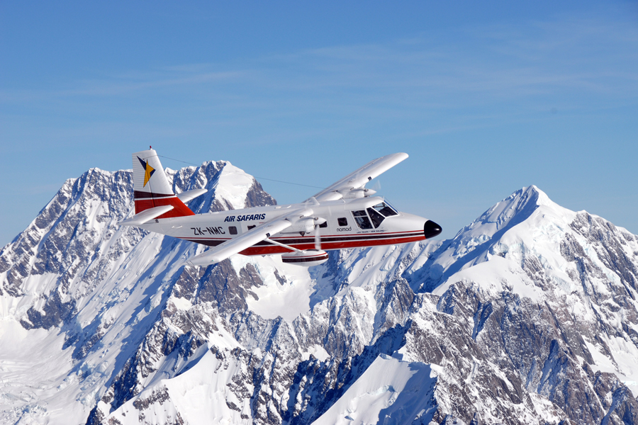 Air Safaris Mount Cook Mount Tasman