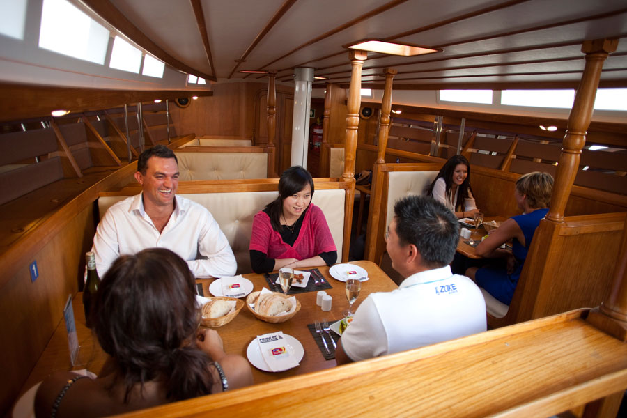 Americas Cup Sailing Dining Experience