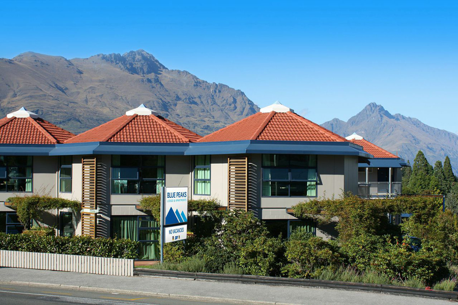 Blue Peaks Lodge Queenstown Accommodation