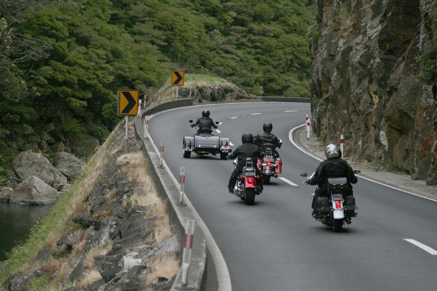 harley davidson motorbike tours ex auckland new zealand. Black Bedroom Furniture Sets. Home Design Ideas