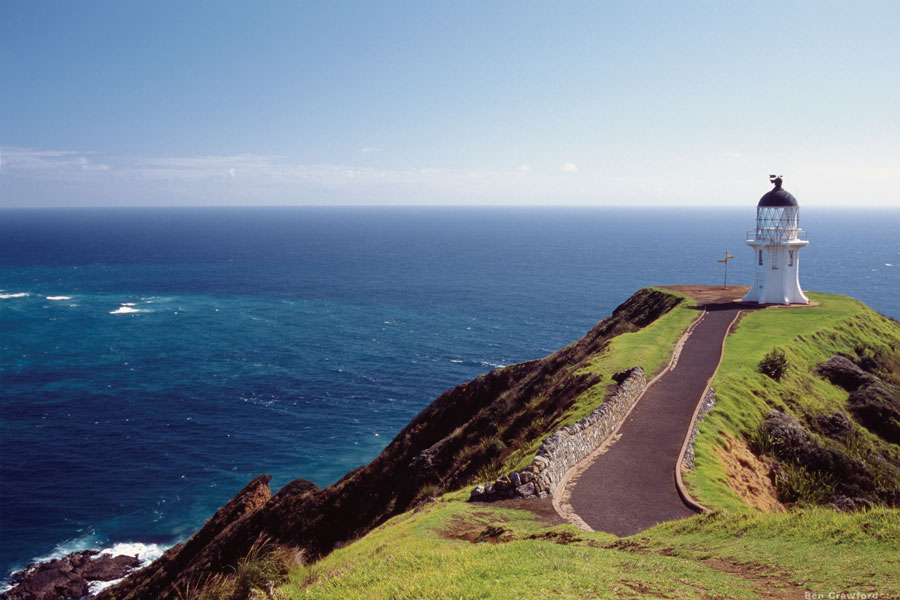 Cape Reinga the northern tip of the North Island