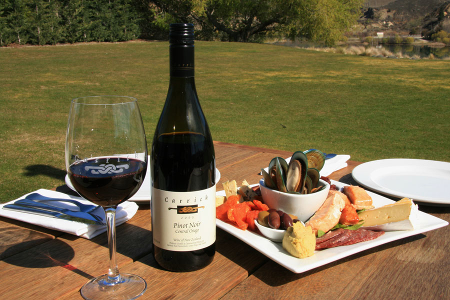 Carrick Winery Central Otago - wine tours are one of the best things to do in the South Island