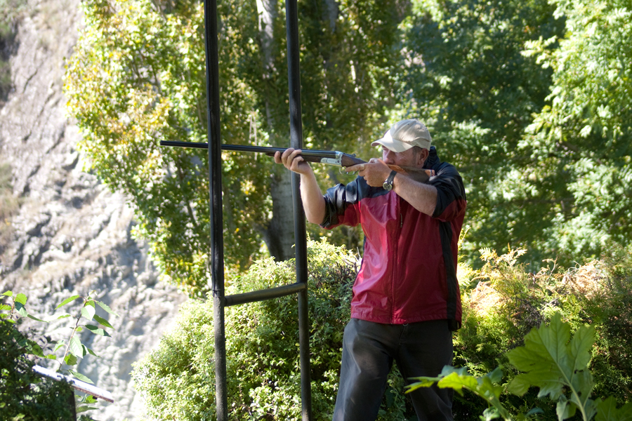 Clay Bird Shooting Hanmer Springs
