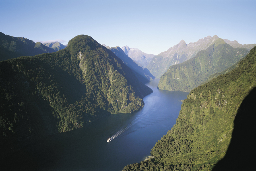 Doubtful Sound by Boat