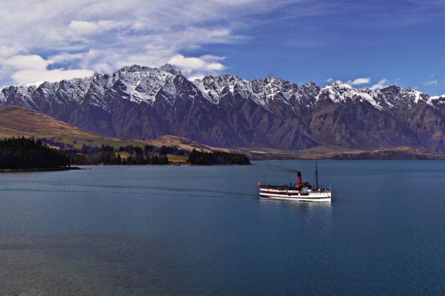 Earnslaw Queenstown Winter