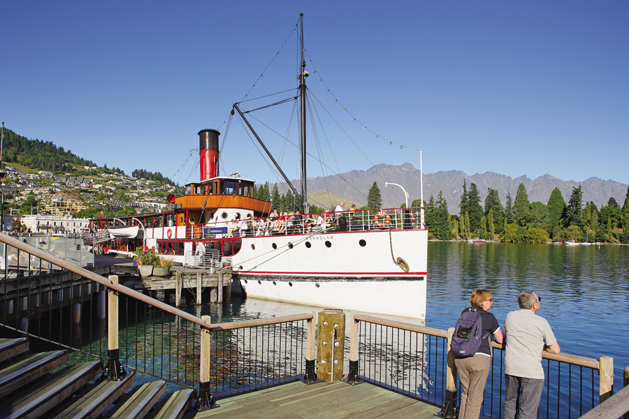 Earnslaw in Queenstown