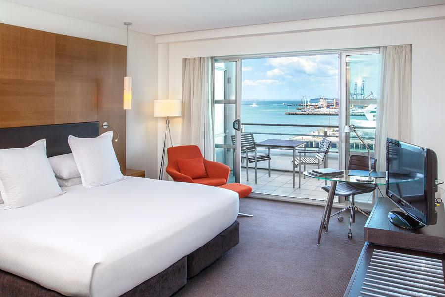 Hilton Hotel Auckland Bedroom