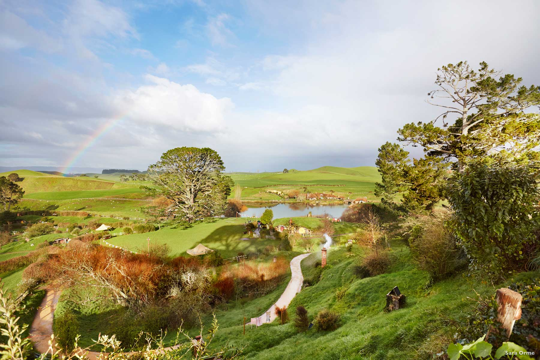 Hobbiton Hamilton Background