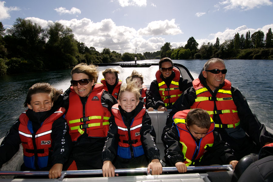 Jet Boating Taupo