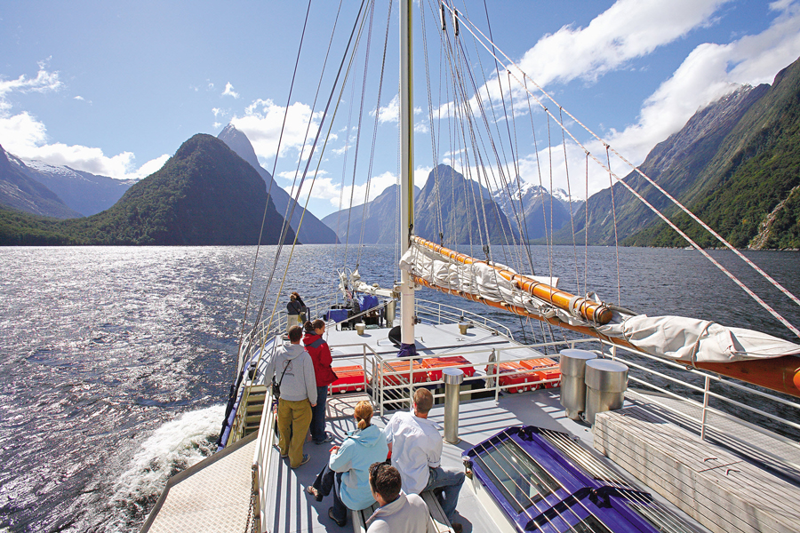 Milford Sounds Cruises Deck