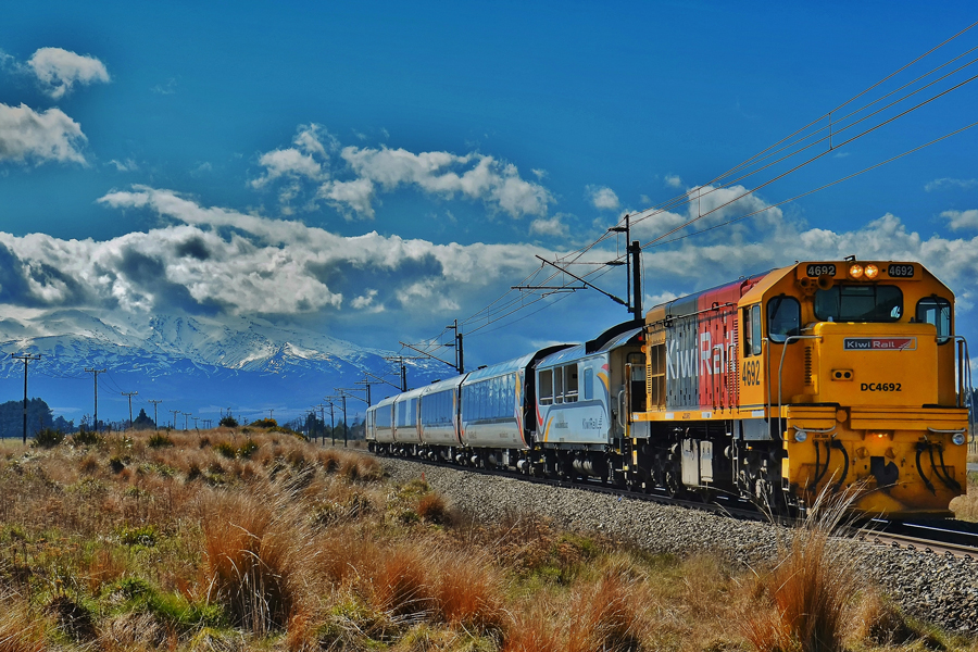 Northern Explorer South Of Waiouru