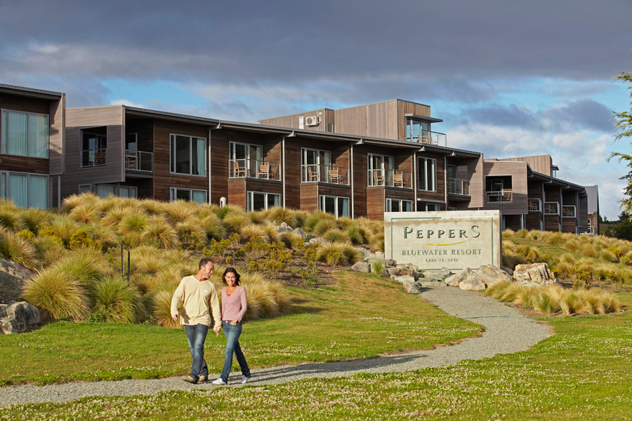 Peppers Bluewater Lake Tekapo Accommodation Exterior