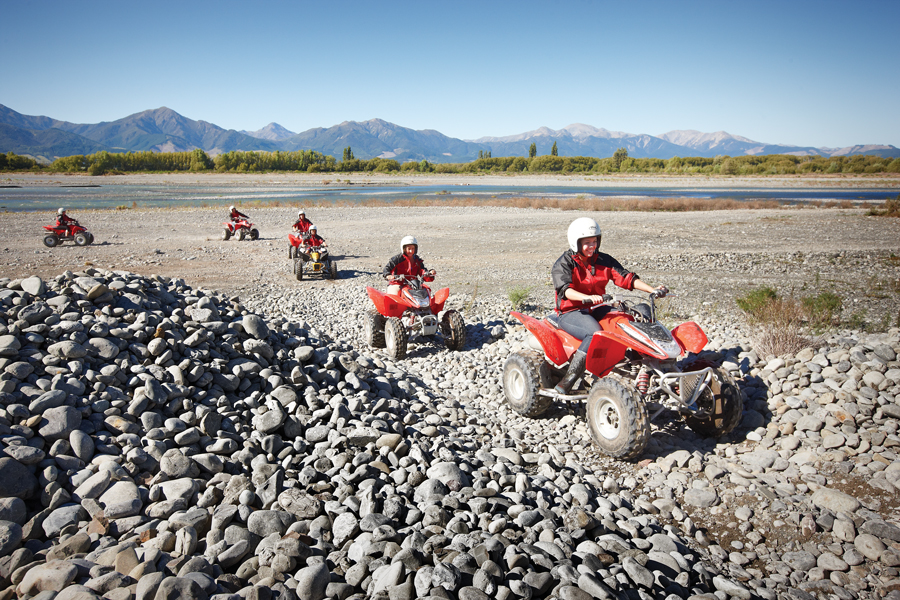Quad Biking Hanmer Springs