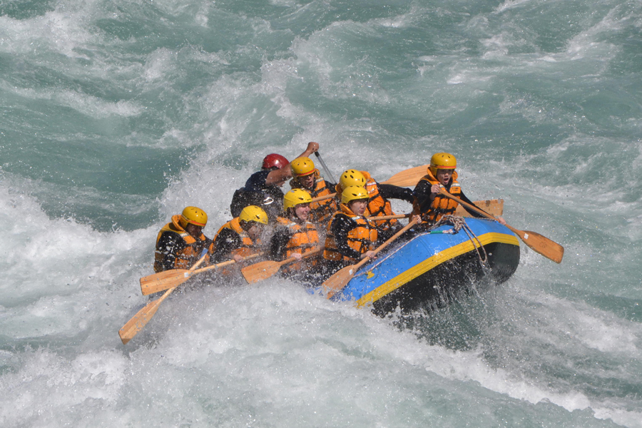 Queenstown Rafting Groups