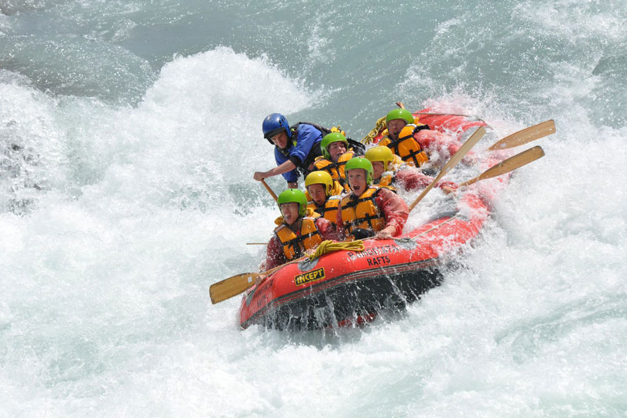 Rafting Christchurch