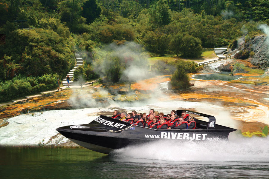 Jet Boating In New Zealand North Island