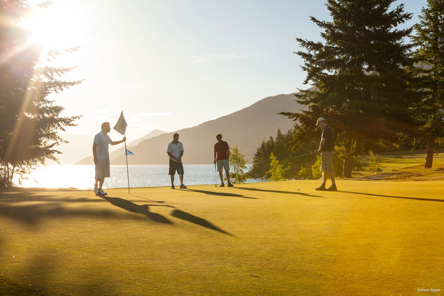 Scenic golf Queenstown