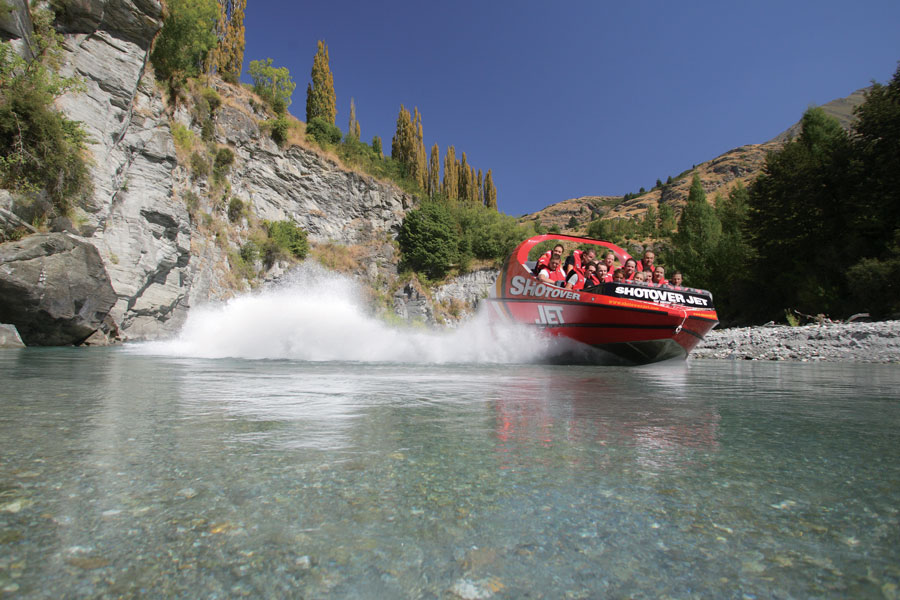 Shotover Jet Queenstown Shotover River