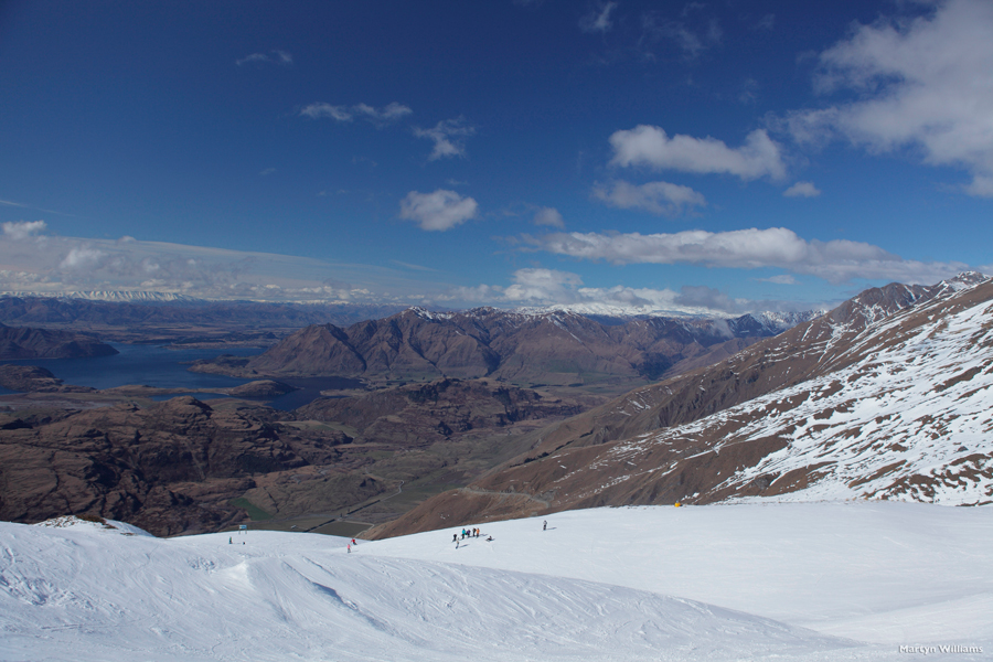 Skiing Treble Cone