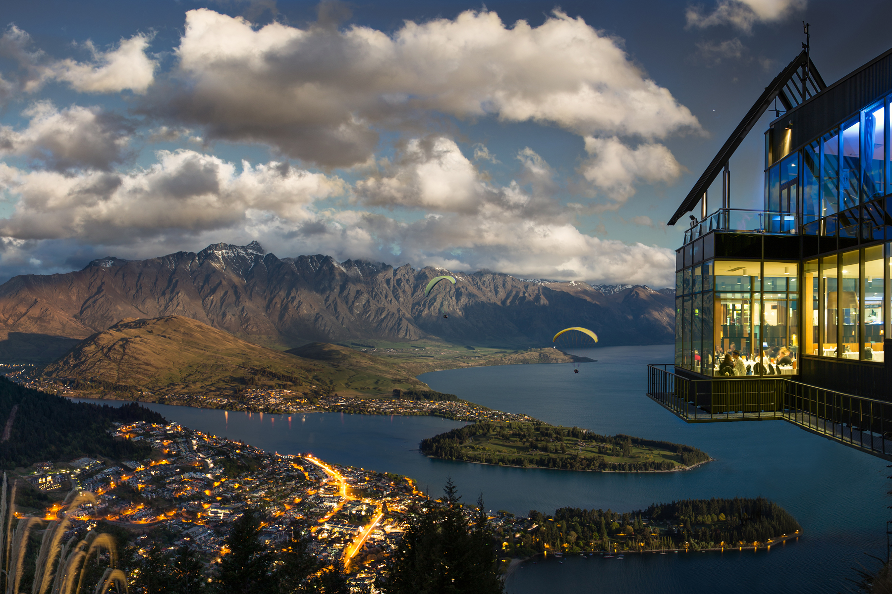 Skyline Gondola Queenstown Background large