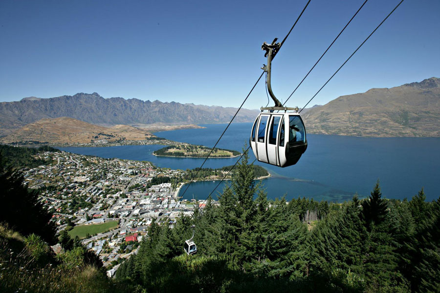 Skyline Gondola Queenstown View