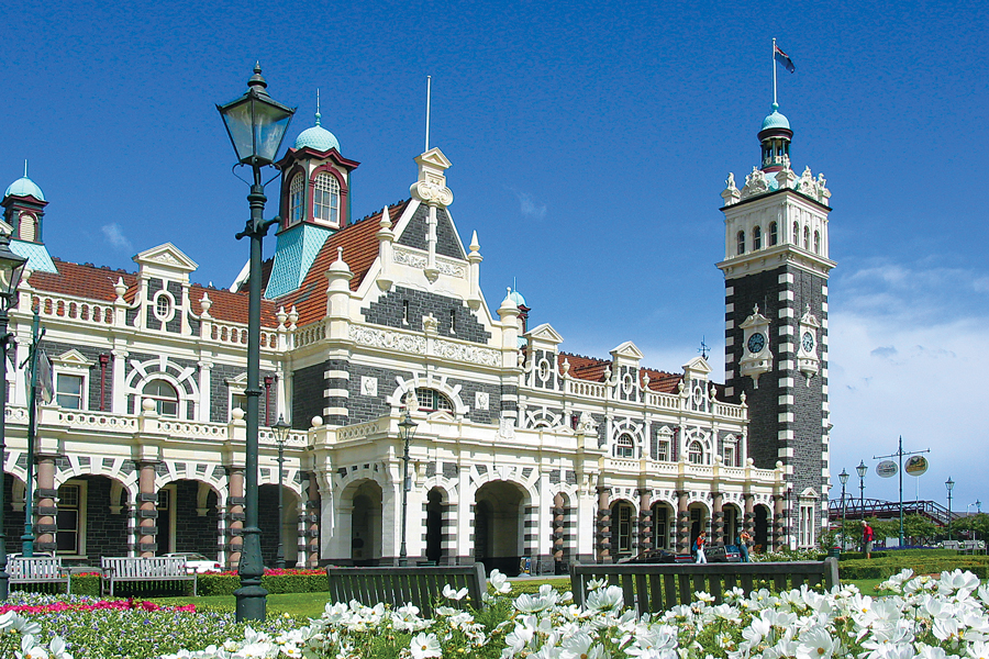Taieri Gorge Train Dunedin Railway Station