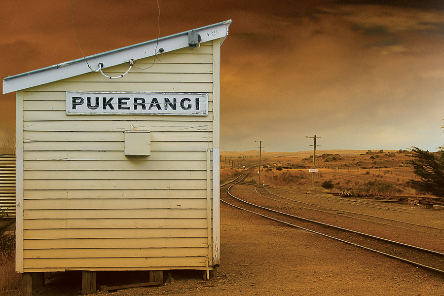 Taieri Gorge Train Pukerangi Station