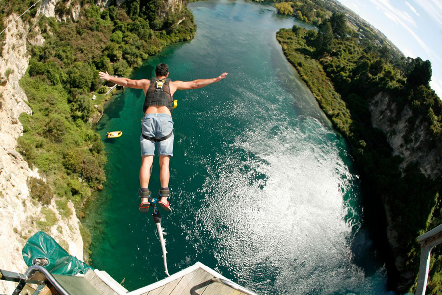 Taupo Bungy Photo