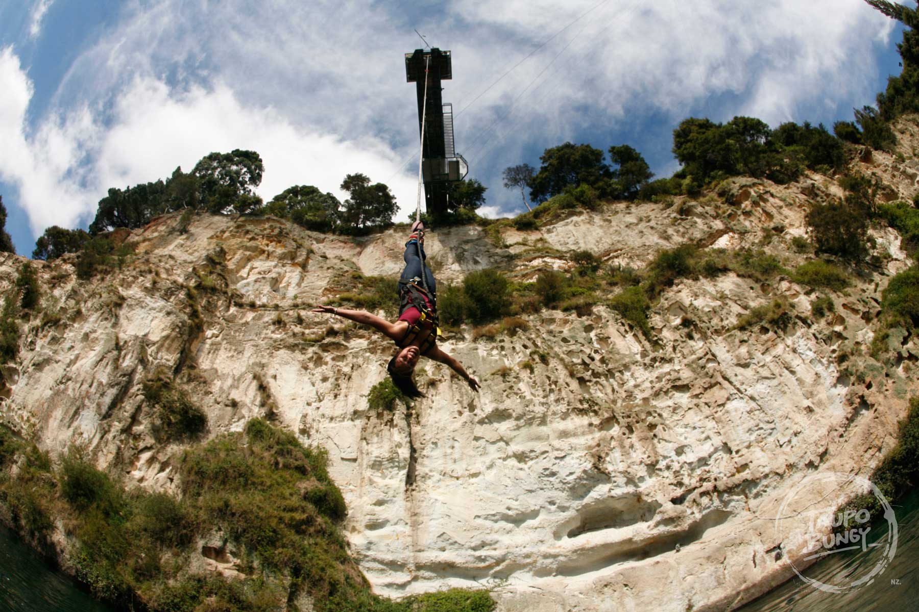 Taupo Bungy background