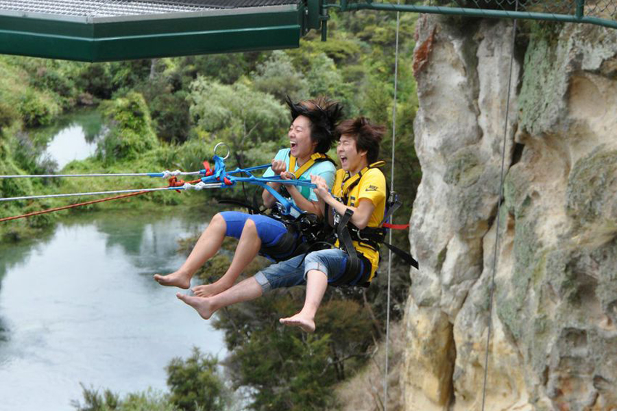 Taupo Cliff Hanger Swing Taupo Activities