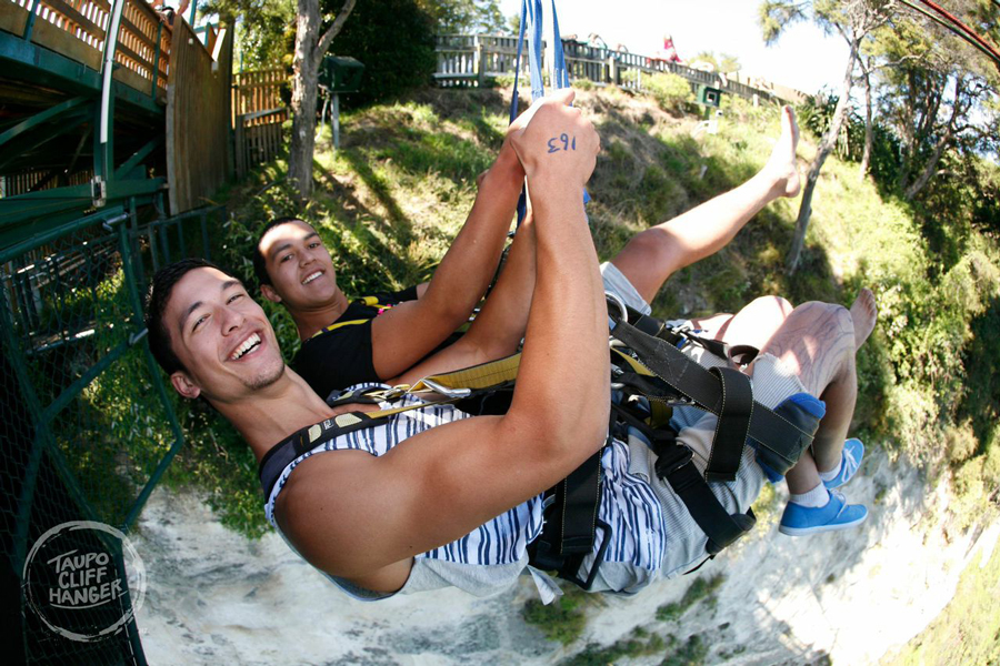 Taupo Cliff Hanger Swing