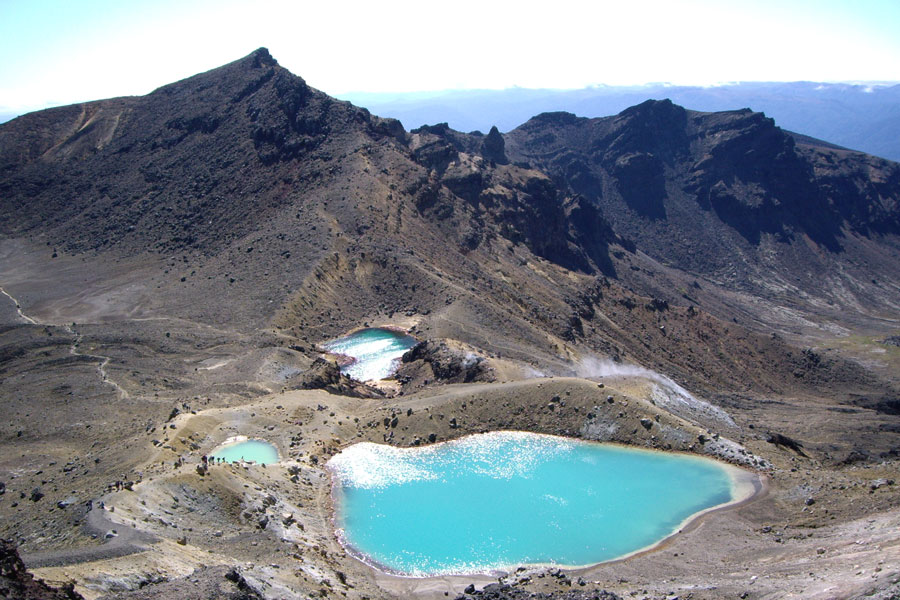 Tongariro Crossing Emerald Pools