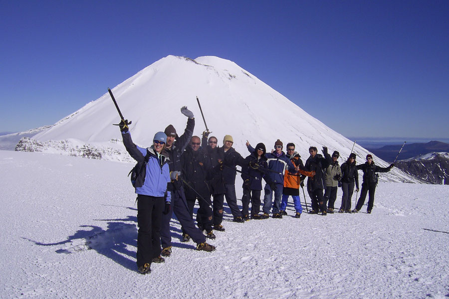 Tongariro Crossing in Winter