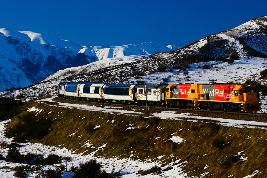 Tranz Alpine Winter Cass Bank