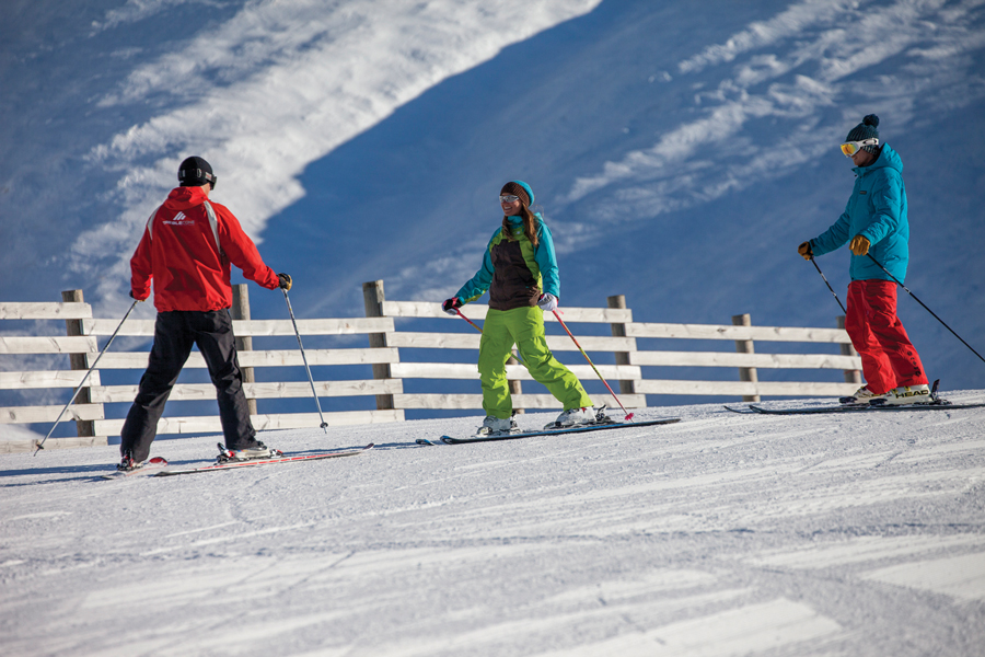 Treble Cone Ski Area Wanaka Adult Lessons
