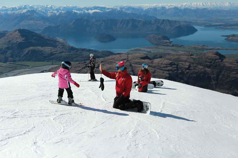 Treble Cone Ski Area Wanaka Ski School