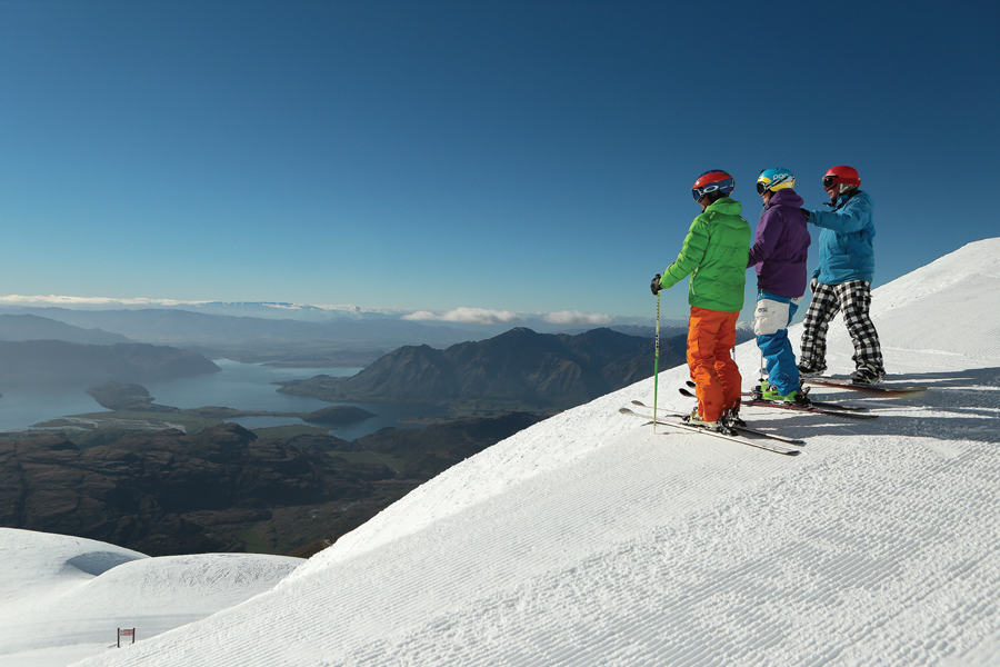 Treble Cone Ski Area Wanaka View