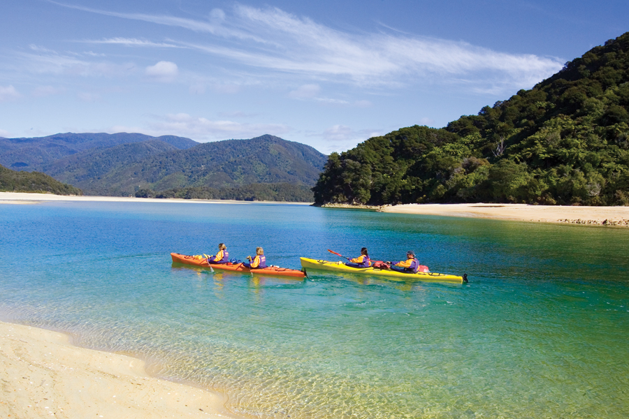Wilsons Abel Tasman Kayaking Day Trips