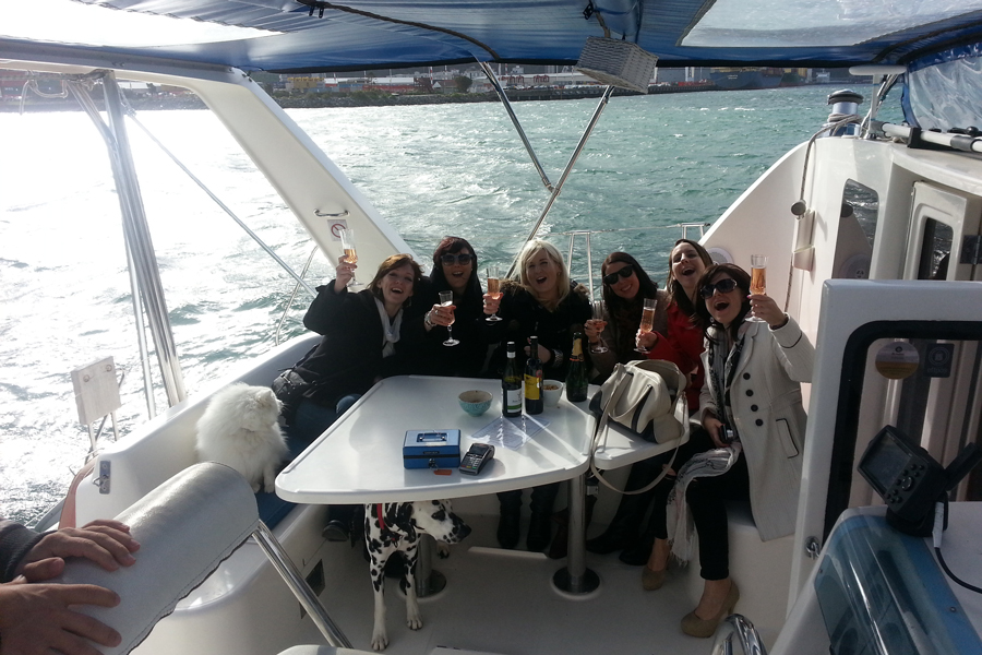 Megisti Sailing Trips Celebration Wellington