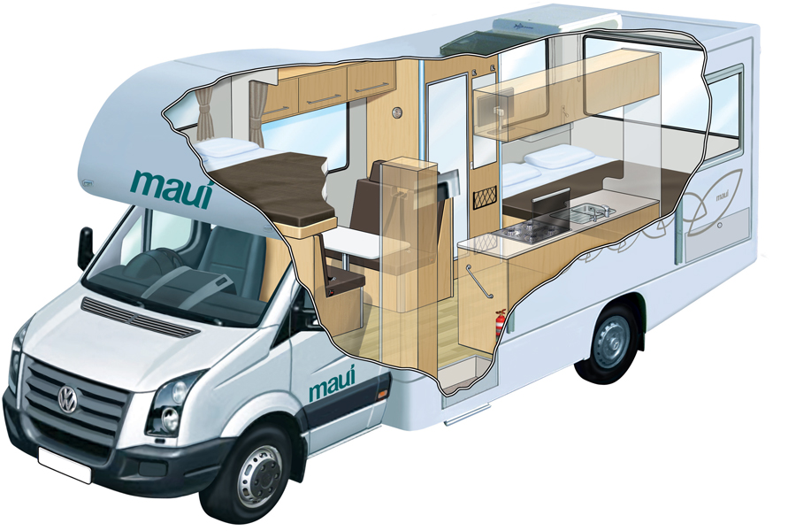 Maui Motorhomes New Zealand Motorhome Rental Nz