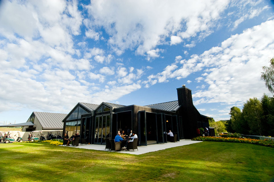 Wairekei Golf Course Clubhouse Taupo