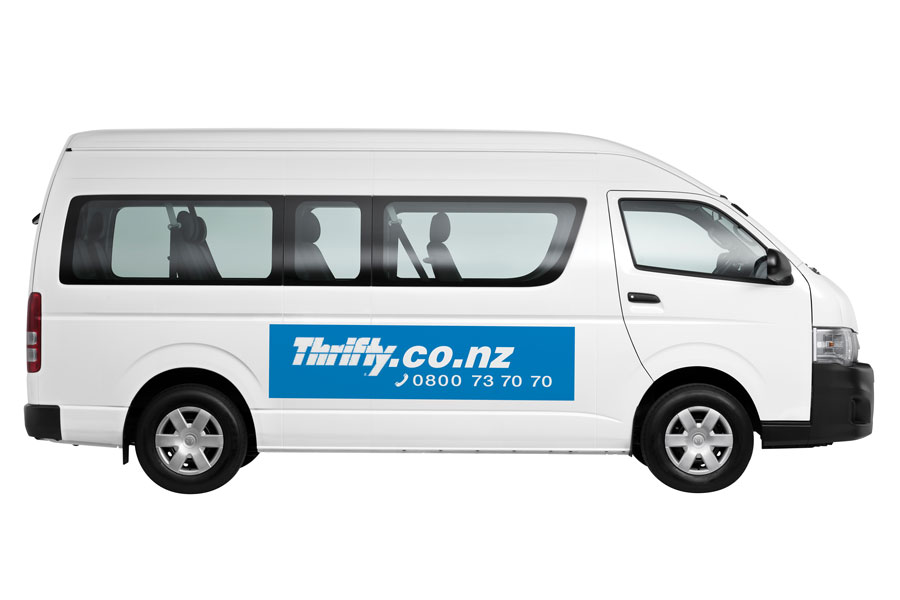 Thrifty Car Rental New Zealand With competitive rates and 32 convenient city, airport and ferry locations nationwide; Thrifty Car Rental New Zealand has your rental car needs covered. Thrifty has one of the youngest fleets in the business, renting a range of modern cars, 4WD's and mini buses.
