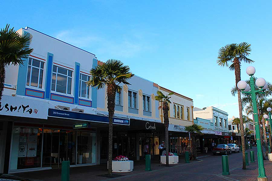 Emerson Street Napier Hawkes Bay Scenic Tours