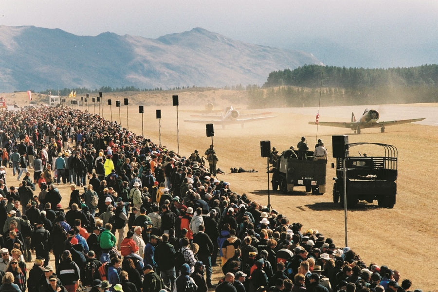 Warbirds Over Wanaka Crowd