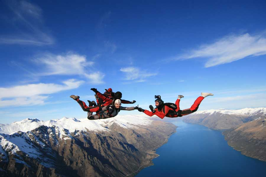 NZONE Skydive Queenstown New Zealand