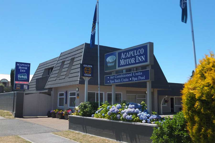 Acapulco Motor Inn Taupo Accommodation