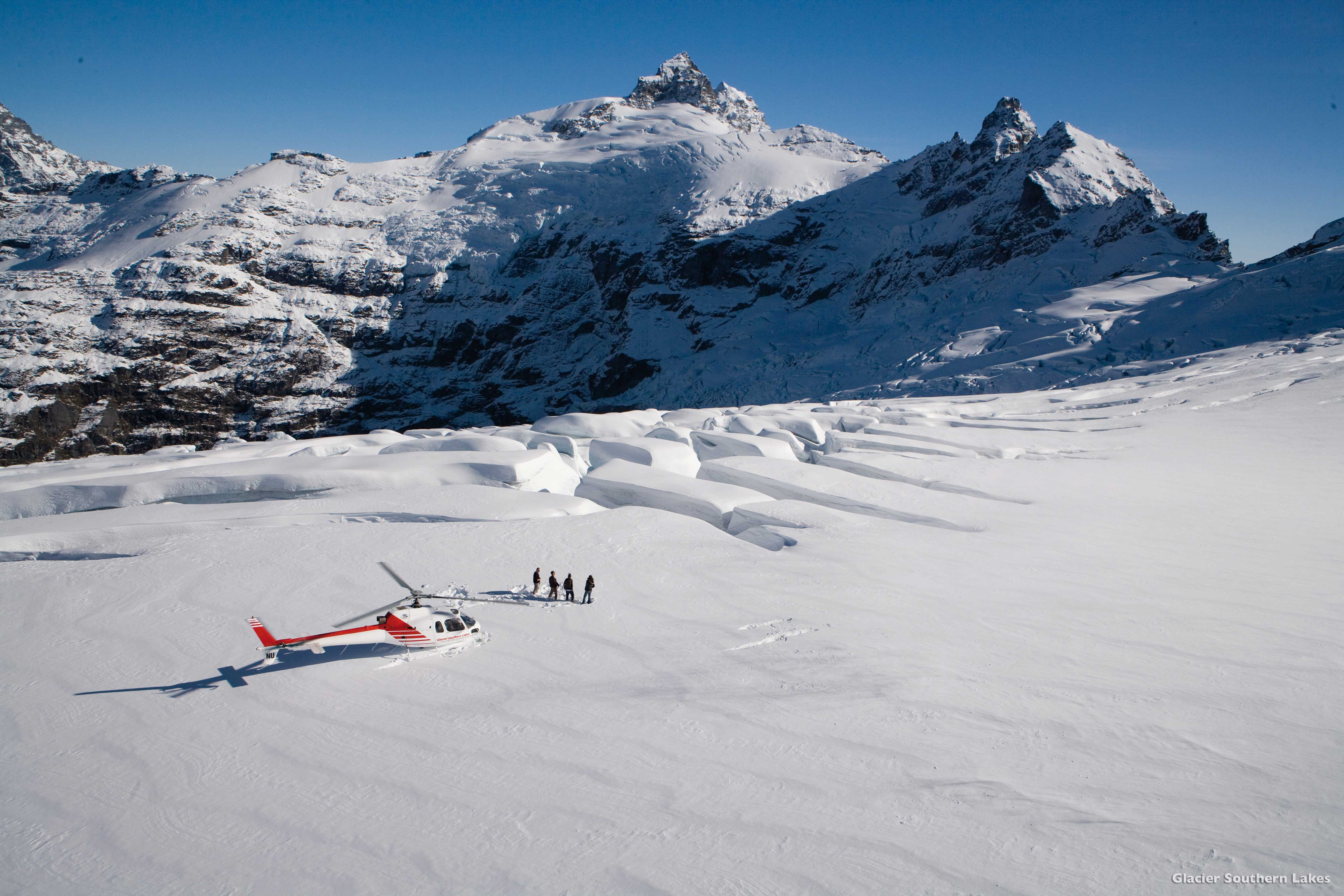 AD Clarke Glacier Queenstown Glacier Southern Lakes Helicopters