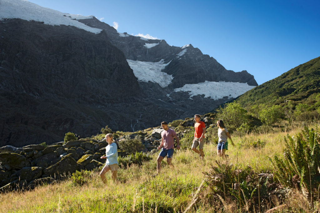 Rob Roy Glacier Track in Mt Aspiring National Park, Wanaka, New Zealand - things to do in the South Island