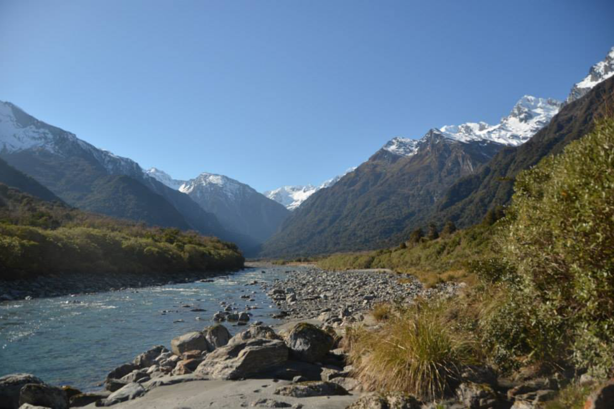 Copland Track to Welcome Flats Hot Pools, West Coast, one of the best hikes in New Zealand