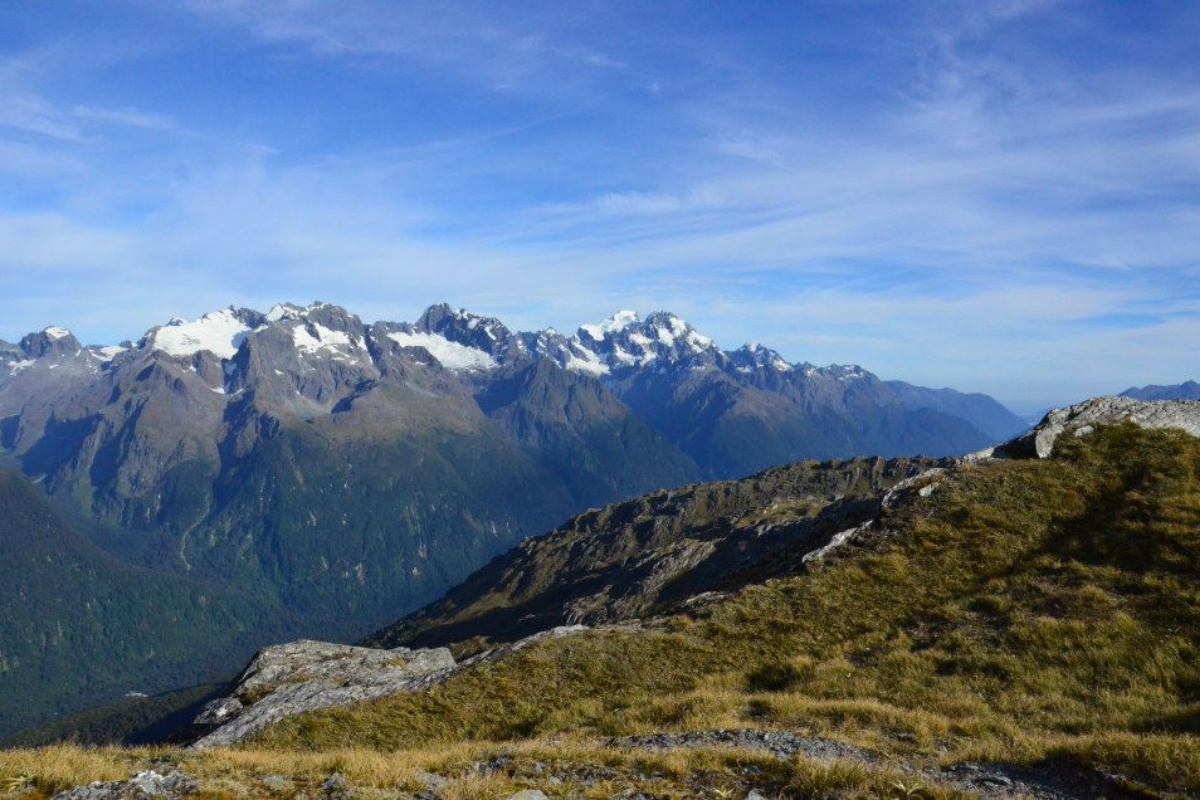 Routeburn Track, one of the New Zealand Great Walks, Mt Aspiring National Park
